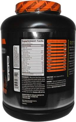 المكملات الغذائية، بروتين مصل اللبن، والرياضة Twinlab, 100% Whey Fuel, Double Chocolate, 5 lbs (2.27 kg)