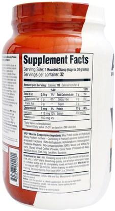المكملات الغذائية، بروتين مصل اللبن، تجريب AST Sports Science, VP2, Whey Protein Isolate, Mocha Cappuccino, 2.12 lbs (960 g)
