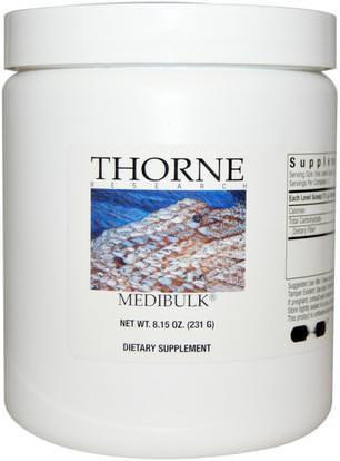 Thorne Research, Medibulk, 8.15 oz (231 g) ,المكملات الغذائية، والألياف