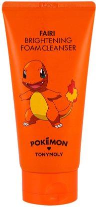 Tony Moly, Pokemon, Foam Cleanser, Brightening, Fairi, 150 ml ,الجمال، العناية بالوجه