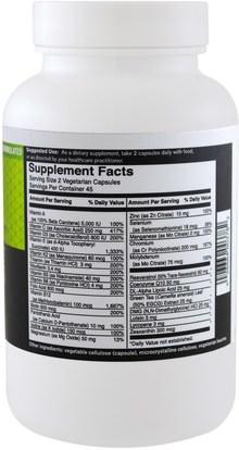 الفيتامينات، الفيتامينات FoodScience, Gluten Free Multivitamin, 90 Capsules