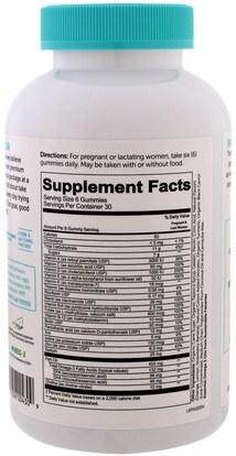 الفيتامينات، الفيتامينات قبل الولادة SmartyPants, Prenatal Complete, 180 Gummies