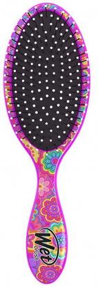 Wet Brush, Happy Hair Detangler Brush, Daisy, 1 Brush ,حمام، الجمال، دقة بالغة، فروة الرأس