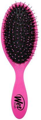 Wet Brush, Shine Brush, Pink, 1 Brush ,حمام، الجمال، دقة بالغة، فروة الرأس