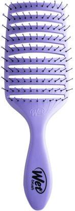 Wet Brush, Speed Dry Brush, Purple, 1 Brush ,حمام، الجمال، دقة بالغة، فروة الرأس