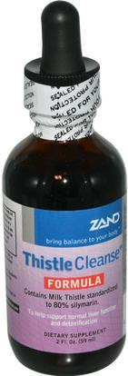 Zand, Thistle Cleanse Formula, 2 fl oz (59 ml) ,الصحة، السموم