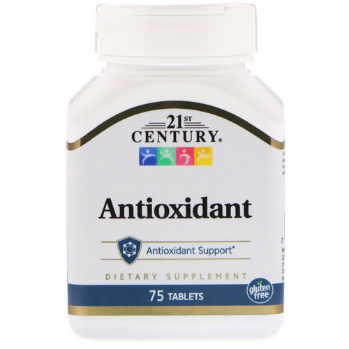 21st Century, Antioxidant, 75 Tablets فوائد