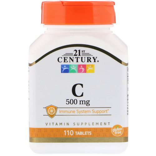 21st Century, C, 500 mg, 110 Tablets فوائد