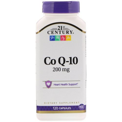 21st Century, Co Q-10, 200 mg, 120 Capsules فوائد