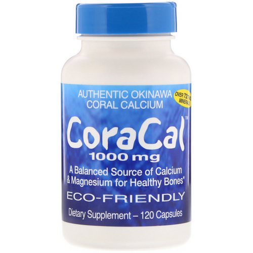 21st Century, CoraCal, 1000 mg, 120 Capsules فوائد
