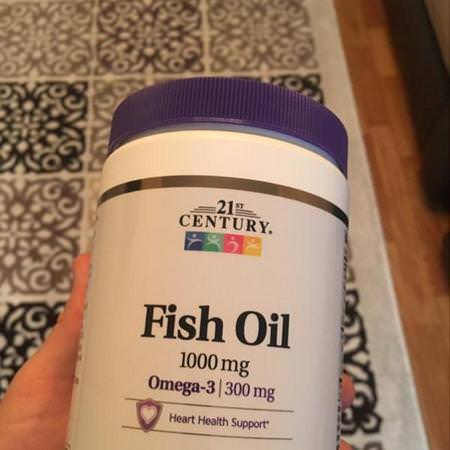 21st Century, Fish Oil, 1,000 mg, 120 Softgels