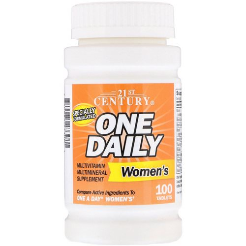 21st Century, One Daily, Women's, 100 Tablets فوائد