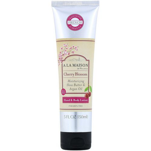 A La Maison de Provence, Hand & Body Lotion, Cherry Blossom, 5 fl oz (150 ml) فوائد