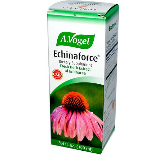 A Vogel, Echinaforce, Fresh Herb Extract of Echinacea, 3.4 fl oz (100 ml) فوائد