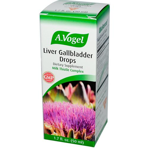 A Vogel, Liver Gallbladder Drops, 1.7 fl oz (50 ml) فوائد