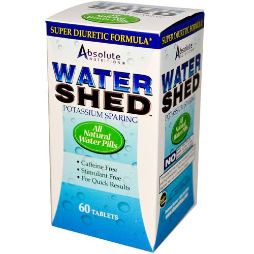 Absolute Nutrition, Watershed, 60 Tablets فوائد