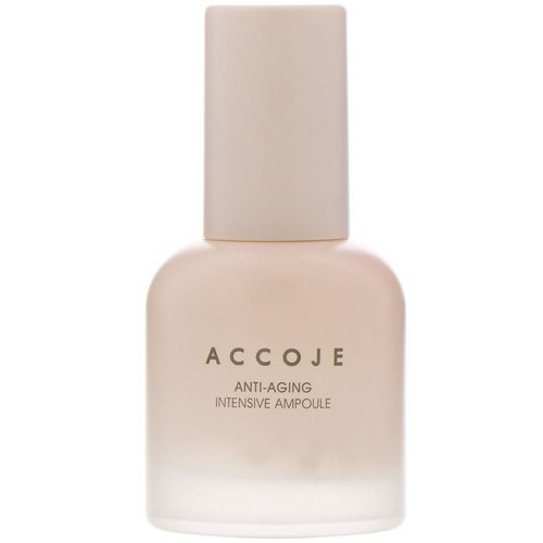 Accoje, Anti-Aging, Intensive Ampoule, 30 ml فوائد