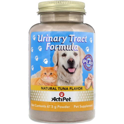 Actipet, Urinary Tract Formula, For Dogs & Cats, Natural Tuna Flavor, 67.5 g فوائد