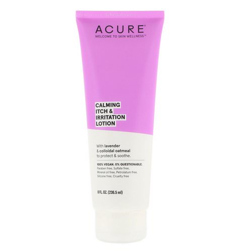 Acure, Calming Itch & Irritation Lotion, 8 fl oz (236.5 ml) فوائد