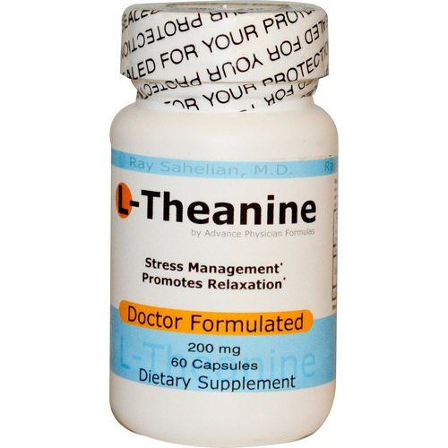 Advance Physician Formulas, L-Theanine, 200 mg, 60 Capsules فوائد