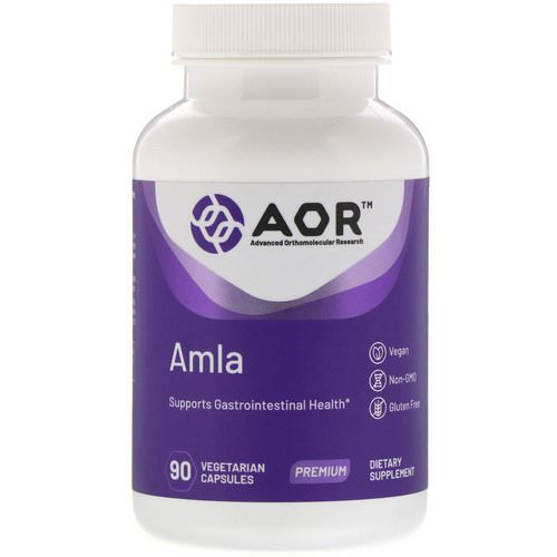 Advanced Orthomolecular Research AOR, AMLA, 90 Vegetarian Capsules فوائد