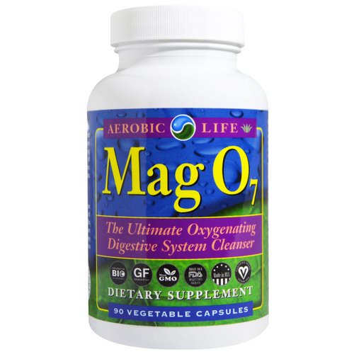 Aerobic Life, Mag 07, The Ultimate Oxygenating Digestive System Cleanser, 90 Veggie Caps فوائد