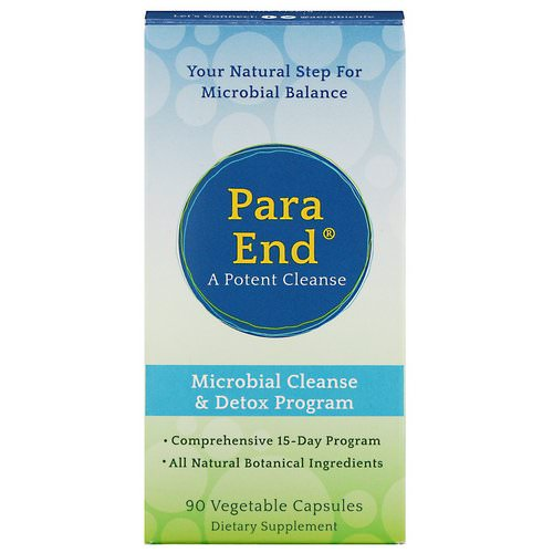 Aerobic Life, ParaEnd, A Potent Cleanse, 90 Vegetable Capsules فوائد
