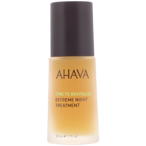 AHAVA, Time To Revitalize, Extreme Night Treatment, 1 fl oz (30 ml) فوائد