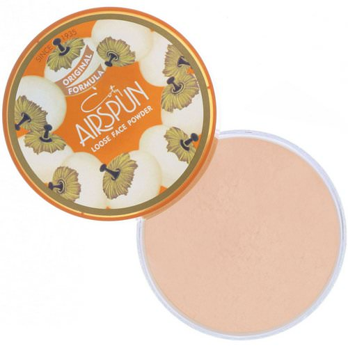 Airspun, Loose Face Powder, Honey Beige 070-32, 2.3 oz (65 g) فوائد