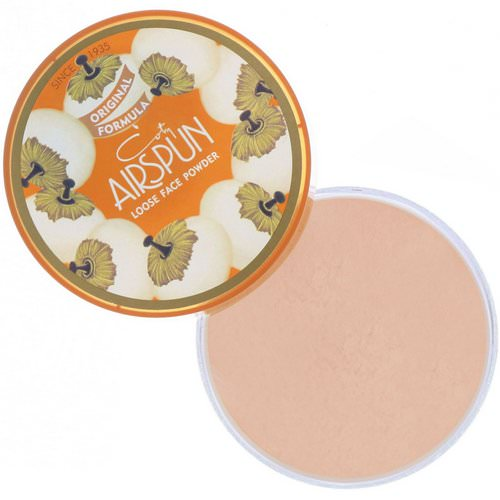 Airspun, Loose Face Powder, Rosey Beige 070-22, 2.3 oz (65 g) فوائد