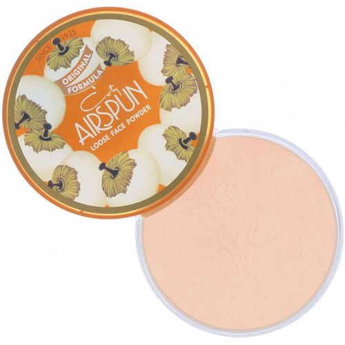 Airspun, Loose Face Powder, Suntan 070-30, 2.3 oz (65 g) فوائد
