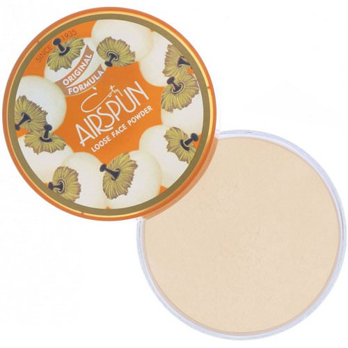 Airspun, Loose Face Powder, Translucent 070-24, 2.3 oz (65 g) فوائد