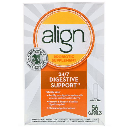 Align Probiotics, 24/7 Digestive Support, Probiotic Supplement, 56 Capsules فوائد