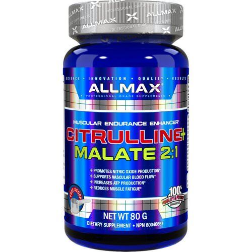 ALLMAX Nutrition, Citrulline Malate, Unflavored, (80 g) فوائد