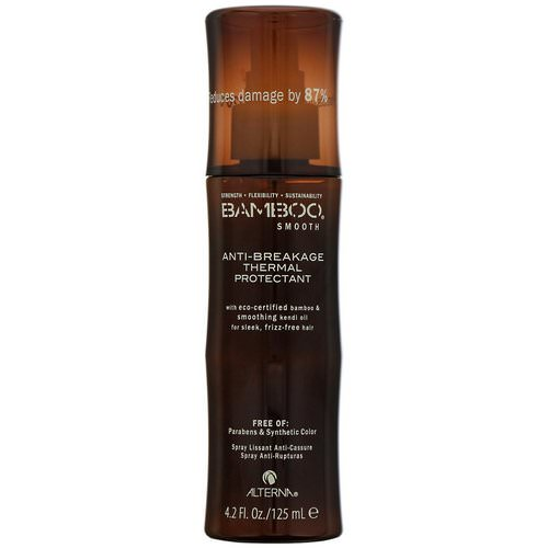 Alterna, Bamboo Smooth, Anti-Breakage Thermal Protectant, 4.2 fl oz (125 ml) فوائد