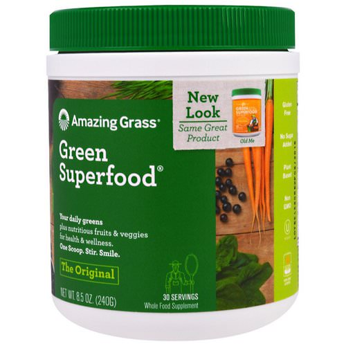 Amazing Grass, Green Superfood, The Original, 8.5 oz (240 g) فوائد