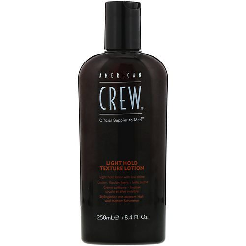 American Crew, Light Hold, Texture Lotion, 8.4 fl oz (250 ml) فوائد