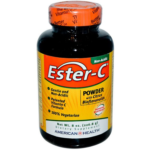 American Health, Ester-C, Powder with Citrus Bioflavonoids, 8 oz (226.8 g) فوائد