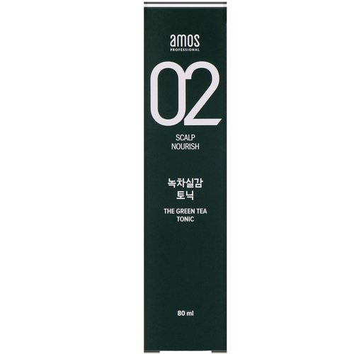 Amos, 02 Scalp Nourish, The Green Tea Volume Mist, 140 ml فوائد