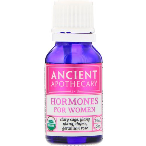 Ancient Apothecary, Hormones for Women, .5 oz (15 ml) فوائد