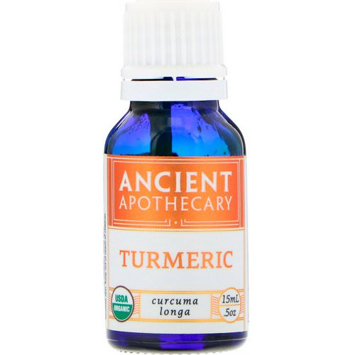 Ancient Apothecary, Turmeric, .5 oz (15 ml) فوائد