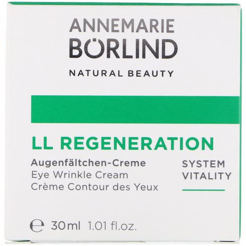 AnneMarie Borlind, LL Regeneration, Eye Wrinkle Cream, 1.01 fl oz (30 ml) فوائد