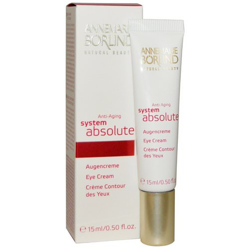 AnneMarie Borlind, System Absolute, Anti-Aging Eye Cream, 0.50 fl oz (15 ml) فوائد