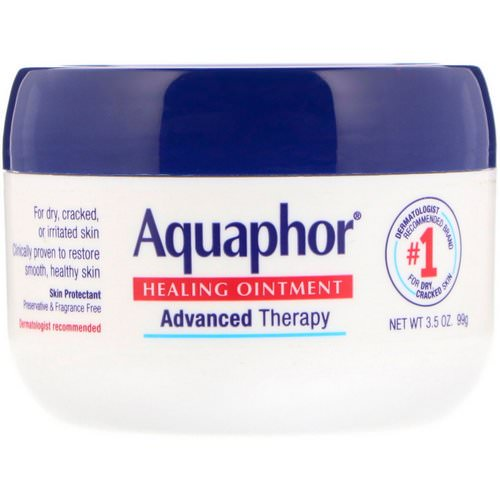 Aquaphor, Healing Ointment, Skin Protectant, 3.5 oz (99 g) فوائد