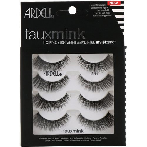 Ardell, Faux Mink, Luxuriously Lightweight Lash, 4 Pairs فوائد