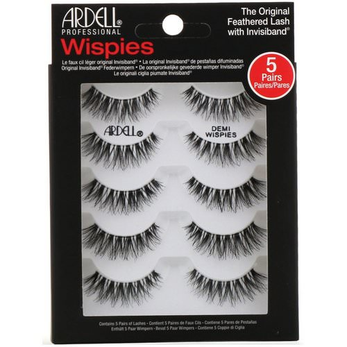 Ardell, Wispies, Original Feathered Lash With Invisiband, 5 Pairs فوائد