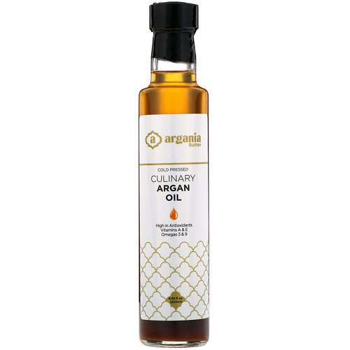 Argania Butter, Organic Culinary Argan Oil, 8.45 fl oz (250 ml) فوائد