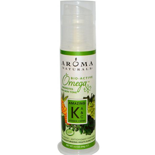 Aroma Naturals, Amazing K, A & C Vitamin Creme, 3.3 oz (94 g) فوائد