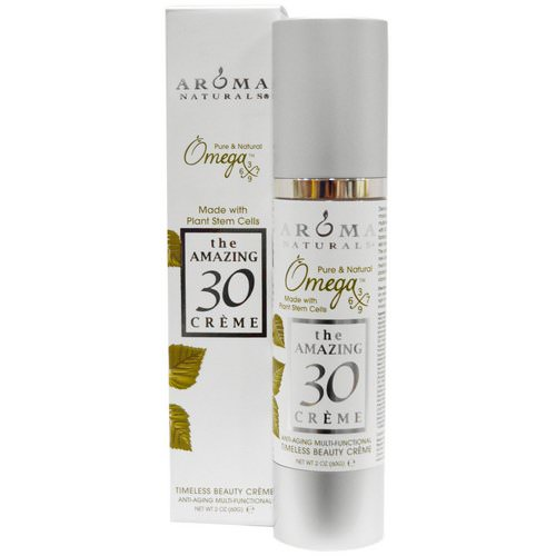 Aroma Naturals, The Amazing 30 Creme, Anti-Aging Multi-Functional, 2 oz (60 g) فوائد