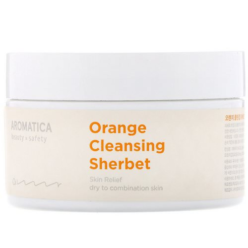 Aromatica, Orange Cleansing Sherbet, 6.3 oz (180 g) فوائد